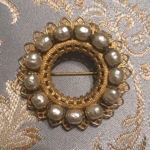 Vintage Miriam Haskell pin